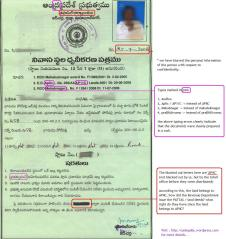 Land deeds distributed to the polepally farmers